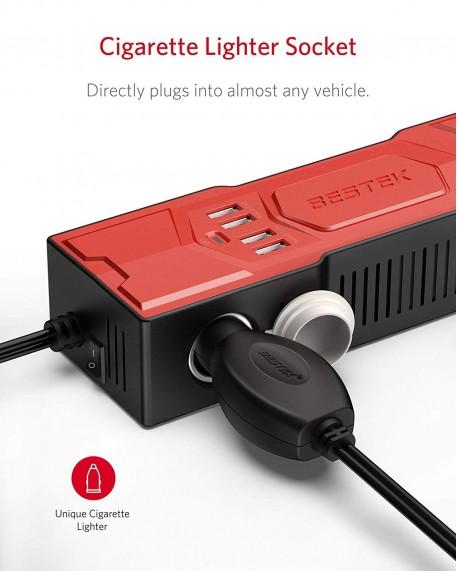 Upgraded 200W Car Power Inverter