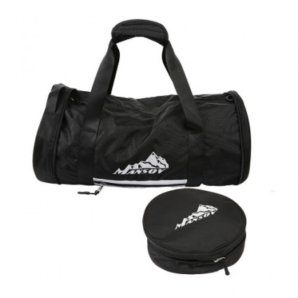 BESTEK MANSOV Travel Bag Black
