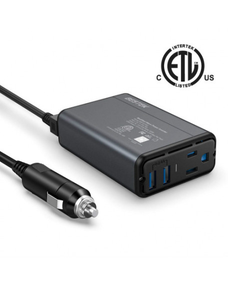 Dual-USB 150W Car Power Inverter