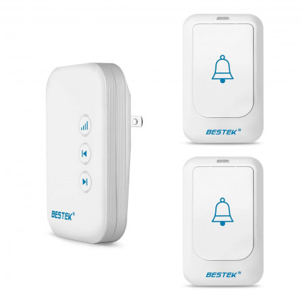 BESTEK 36 Chimes Wireless Doorbell For Home and Office