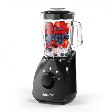 BESTEK 350W Smoothie Blender High Speed