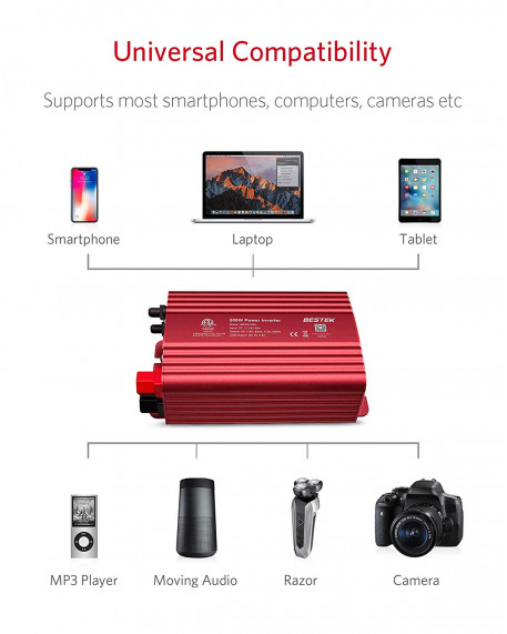 500W DC to AC Car Power Inverter