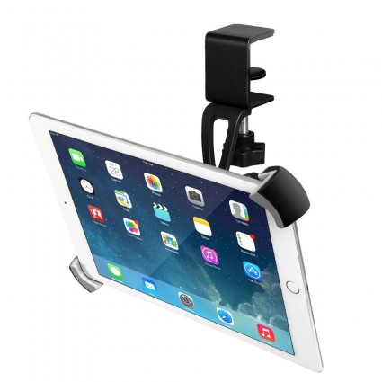 "BESTEK Tablet Mount Holder with a Universal Clamp for 9.5"" -14.5"" Tablets Grey"