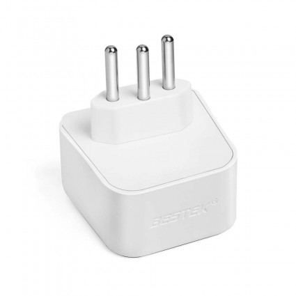 BESTEK Travel Adapter Type N Plug Converter for Brazil (BR)