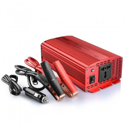 BESTEK 1000W Power Inverter DC 12V to AC 230V/240V, 1 AC Outlet DE