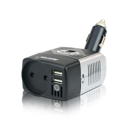 BESTEK Power Inverter 150W Car Charger with3.1A Dual USB Charging Ports  ES