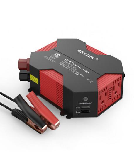 12V to 110V 400W Car Power Inverter