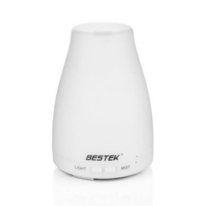 BESTEK 120ml Essential Oil Diffuser Portable Ultrasonic Aroma Humidifier