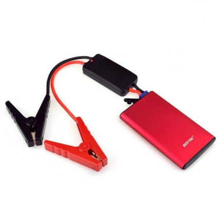BESTEK 400A 8000mAh Portable Car Jump Starter for 4L/3L Diesel Engine Red