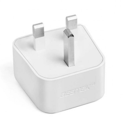 BESTEK Grounded Universal Travel Adapter Type G for UK,  HK, Malaysia