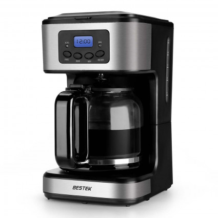 BESTEK 12-Cup Digital Programmable Coffee Maker