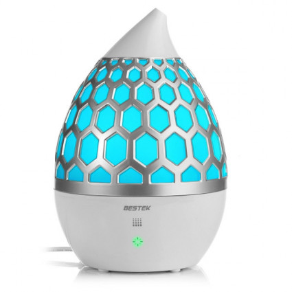 BESTEK Ultrasonic Oil Diffuser with 7 Changing Colors 4L JP