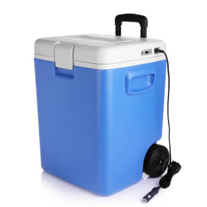 BESTEK Electric Refrigerator Cooler with Wheels 30 Quart 12V for Travel