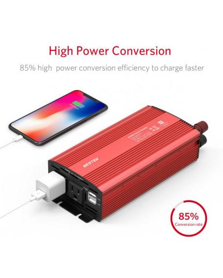 800W DC 12V to 110V AC Car Power Inverter