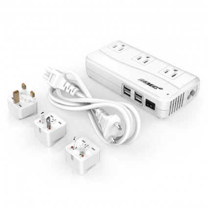 Travel Adapter Voltage Converter 220V to 110V
